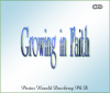 CD set - Growing in Faith by Dr Harold Dewberry Ph.D.