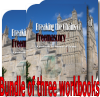 Workbook bundle of 3 x Breaking the Chains of   Freemasonry by Derek Robert - Breaking Masonic Curses - WORLDWIDE POSTAGE INCLUDED